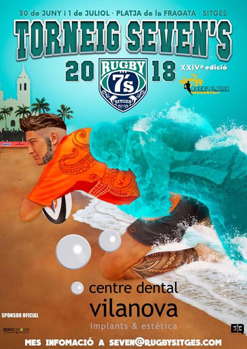 Centre Dental Vilanova Sponsor del torneo Rugby Seven  Playa 2018